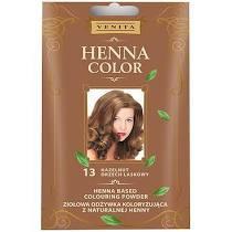 Henna Color szinező hajbalzsam nr 13 mogyoróbarna 75 ml