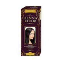 Henna Color szinező hajbalzsam nr 19 fekete csokoládé 75 ml