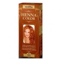 Henna Color hajszínező hab nr.4 henna vörös 75 ml