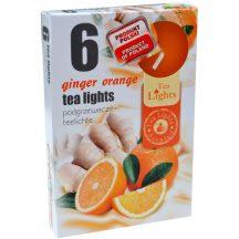 Illatos teamécses narancs 6 db-os 1 db