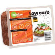 Balviten gluténmentes low carb szénhidrátcsökkentett kenyér 190 g