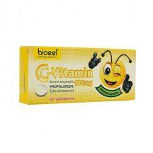 Bioeel c-vitamin 100mg propolisszal rágótabletta édesítőszer 20 db