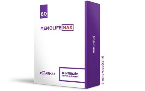 Memolife max kapszula 30 db