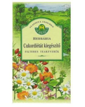 HERBÁRIA CUKORDIÉTÁT KIEGÉSZÍTŐ TEA