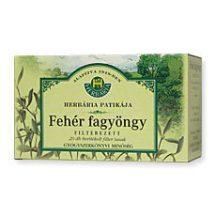 HERBÁRIA FEHÉR FAGYÖNGY TEA FILTERES