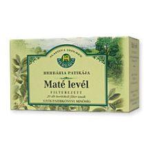 HERBÁRIA MATÉ LEVÉL TEA FILTERES