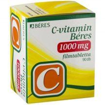 BÉRES C-VITAMIN 1000MG+D3 2000NE RET.TBL