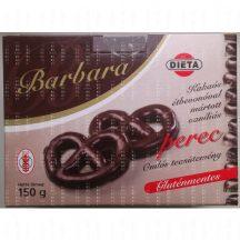 Barbara gluténmentes kakaós étbevonós vaníliás perec 150 g