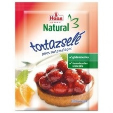 Haas natural tortazselépor piros 11 g