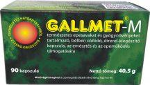 Gallmet-M-90 gyógynövény kapszula 90 db