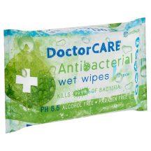 Doctor Care antibakteriális törlőkendő 72 db