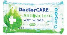 Doctor Care antibakteriális törlőkendő 15 db
