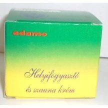 Adamo helyi fogyasztó és szauna krém 50 ml