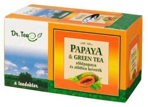 DR.TEA PAPAYA+ZÖLD TEA 20 FILTER