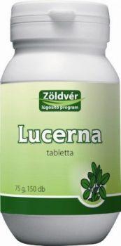 Zöldvér lucerna tabletta 100% 150 db