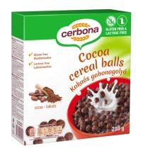 Cerbona kakaós gabonagolyó gluténmentes, laktózmentes 200 g