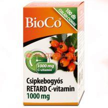 Bioco c-vitamin 1000mg csipkebogyós retard 100 db