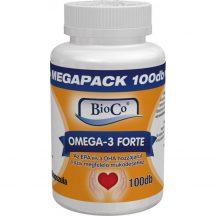 Bioco omega-3 forte kapszula 100 db