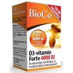 BIOCO D3-VITAMIN FORTE TABLETTA 4000 IU 100 db