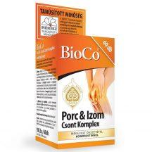Bioco porc&izom csont komplex kondroitinnel 60 db