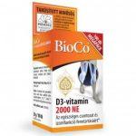 BIOCO D3-VITAMIN 2000 NE TABLETTA 100 db
