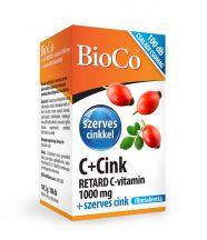 Bioco c+cink retard c-vitamin 1000 mg 100 db