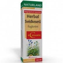Naturland svédkeserü fogkrém+c vitamin 100 ml