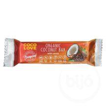 Biopont bio coco love kakaós kókuszos szelet 40 g