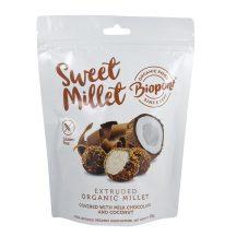 Biopont bio sweet millet tejcsokoládés kókuszos extrudált köles, gluténmentes 55 g