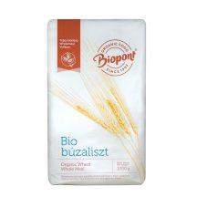 Biopont bio teljes kiőrlésű búzaliszt bltk-200 1000 g