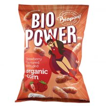 Biopont bio extrudált kukorica valódi eperporral 70 g