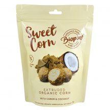 Biopont bio sweet corn karobos kókuszos extrudált kukorica, gluténmentes 55 g