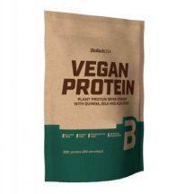 Biotech vegan protein vaníliás sütemény ízű fehérje italpor 500 g