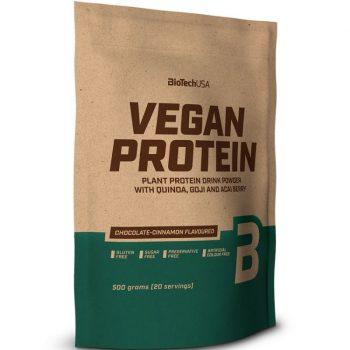 Biotech vegan protein erdei gyümölcs ízű fehérje italpor 500 g