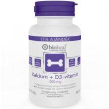 Bioheal kalcium+d3-vitamin 500mg 70 db