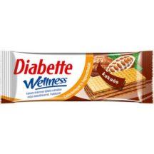 Diabette wellness kakaós ostya szelet fruktózzal 26 g