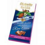 Diabette töltött tejcsokoládé (kakaós rum ízű) 80 g