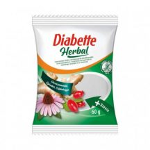 Diabette herbal gyömbér, csipkebogyó, orvosi pemetefű cukorka 60 g