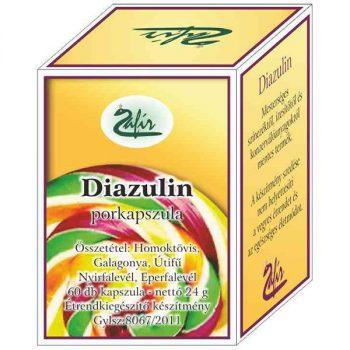 Zafír diazulin kapszula 60 db