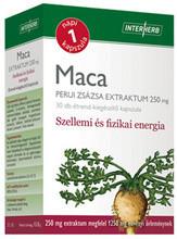 INTERHERB MACA PERUI ZSÁZSA KAPSZULA 30 db