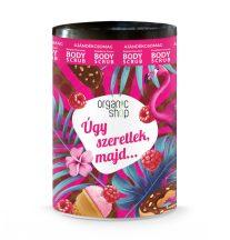 Organic Shop Úgy szeretlek, majd…: Bio Belga csoki testradír + málnakrém testradír 2x250ml