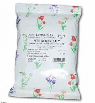 GYÓGYFŰ CUKORSTOP VÉRCUKORSZINT TEA 50 g