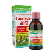 Naturland lándzsás útifű+c-vitamin gyerek szirup 150 ml