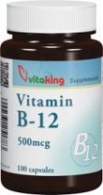 VITAKING B12-VITAMIN KAPSZULA 500MG