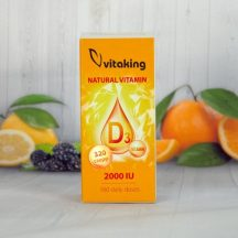 Vitaking natural d3 vitamin csepp 20 ml