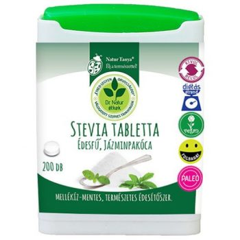 Dr.chen stevia tabletta 200 db