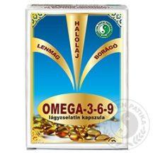 Dr.chen omega-3-6-9 lágyzselatin kapszula 30 db