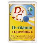 DR.CHEN D3+LIPOSZÓMÁS C-VITAMIN KAPSZULA 30 db