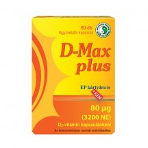Dr.chen d-max plus d3-vitamin 3200ne kapszula 60 db