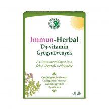 Dr.chen immun-herbal D3-vitamin kapszula 60 db